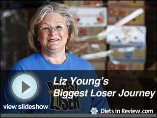 View Liz Young's Biggest Loser Journey Slideshow