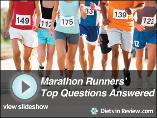 View Marathon Runner Top Questions Slideshow