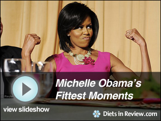 View Michelle Obama's Fittest Moments Slideshow
