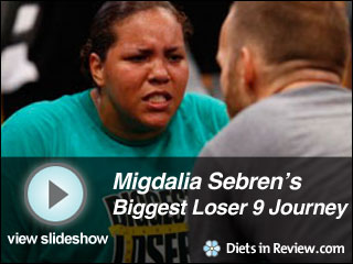 View Migdalia Sebren's Biggest Loser 9 Journey Slideshow