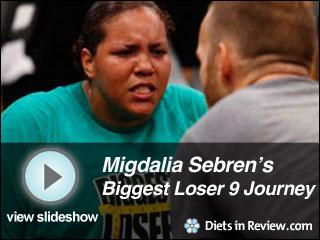 View Migdalia Sebren's Biggest Loser 9 Journey Slideshow
