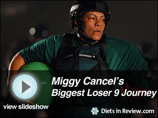 View Miggy Cancel's Biggest Loser 9 Journey Slideshow