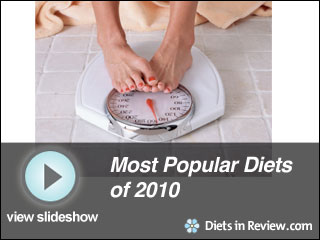 View Most Popular Diets of 2010 Slideshow