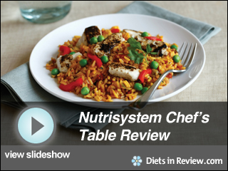 View Nutrisystem Chef's Table Review Slideshow