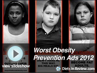 View Obesity Preventions Ads of 2012  Slideshow