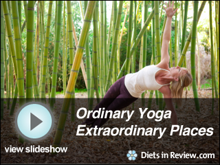 View Ordinary Yoga Poses in Extraordinary Places Slideshow