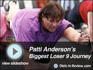View Patti Anderson's Biggest Loser 9 Journey Slideshow