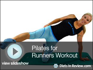 View Pilates for Runners Workout Slideshow
