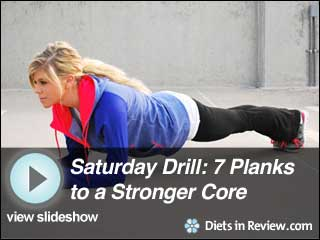 View Saturday Morning Drill: 7 Planks to a Stronger Core Slideshow
