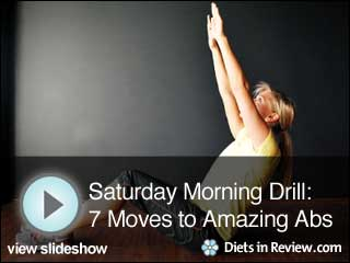 View Saturday Morning Drills: 7 Moves to Amazing Abs Slideshow