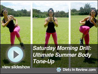 View Saturday Morning Drills: Ultimate Summer Body Tone Up Slideshow