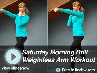 View Saturday Morning Drills: Weightless Arm Workout Slideshow