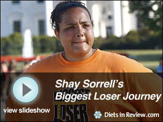 View Shay Sorrell's Biggest Loser Journey Slideshow