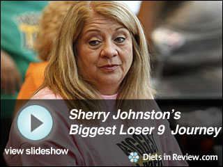 View Sherry Johnston's Biggest Loser 9 Journey Slideshow