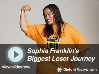 View Sophia Franklin's Biggest Loser 10 Journey Slideshow