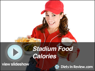 View Stadium Food Calories Slideshow