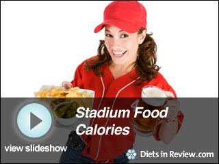 View Stadium Food Calories Slideshow