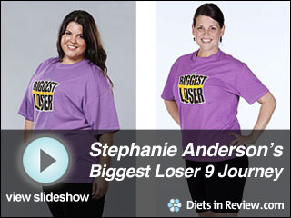 View Stephanie Anderson's Biggest Loser 9 Journey Slideshow