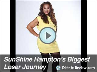 View SunShine Hampton's Biggest Loser 9 Journey Slideshow