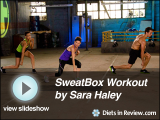 View Sweatbox Workout by Sara Haley Slideshow
