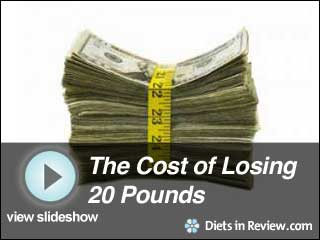 View The Cost of Losing 20 Pounds Slideshow