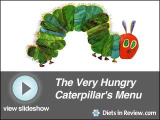 View The Very Hungry Caterpillar's Menu  Slideshow