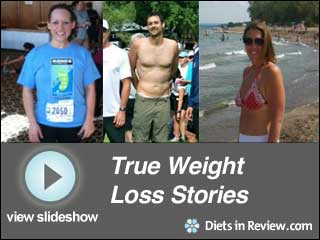 View True Weight Loss Stories Slideshow