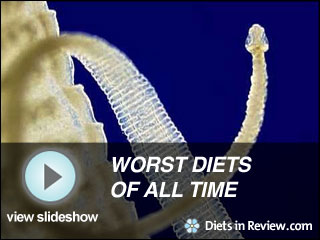 View Worst Diets of All Time Slideshow