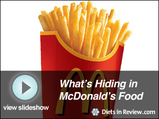 View What McDonalds is Hiding in its Food Slideshow