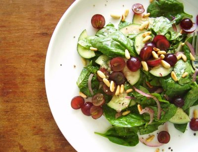 Fresh European Style Salad Blend, Baby Spinach