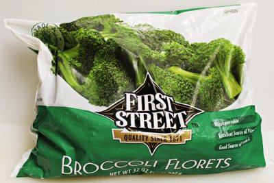 Broccoli Florets, Microwave in Bag