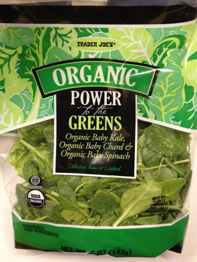 Organic Power To The Greens