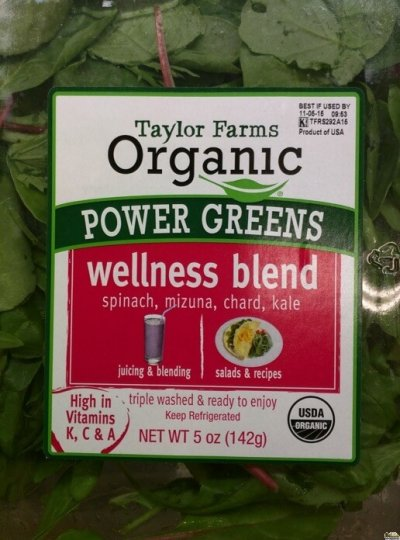 Power Greens-Chard, Kale & Spinach