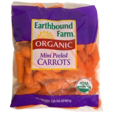 Carrots, Organic Mini Peeled