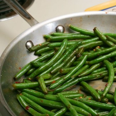 Frozen Green Beans, Unprepared