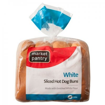 Hot Dog Buns, Enriched, Poppyseed