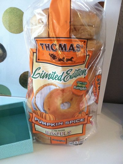Bagels, Pumpkin Spice, Limited Edition