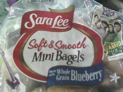 Mini Bagels, Whole Grain Blueberry