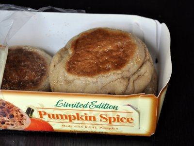 Pumpkin Spice English Muffins