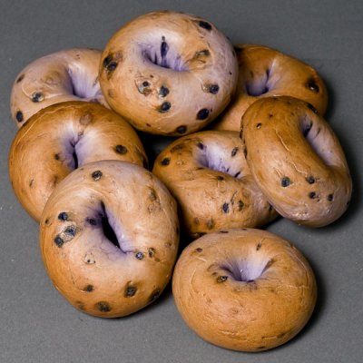 Bagels, Blueberry