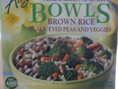 Brown Rice, Black-Eyed Peas and Veggies
