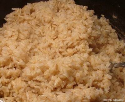 Brown Rice, Long-grain, Cooked
