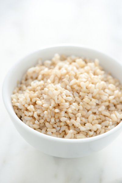 Cooked Organic Brown Rice