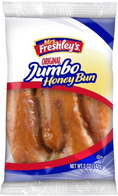 Jumbo Glazed Honey Bun