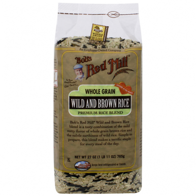 Premium Rice Blend, Wild And Brown Rice, Whole Grain