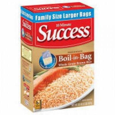 Rice, Boil-in-Bag, Brown