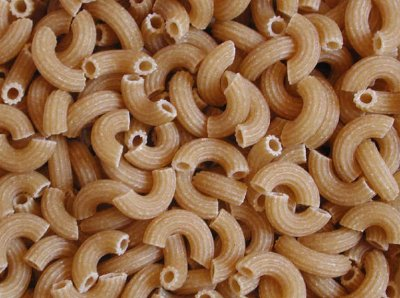 100% Whole Wheat Elbow Pasta