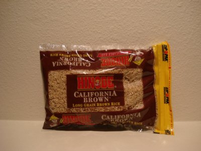 Rice, Brown California