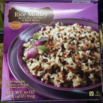 Rice Medley - Brown Rice, Red Rice & Black Barley