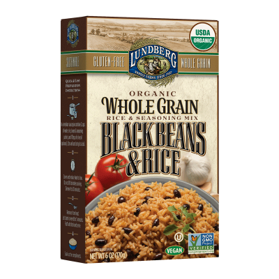 Whole Grain Black Beans & Rice